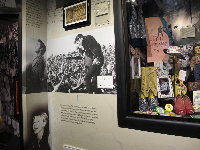 Exhibits about Elvis' performances.