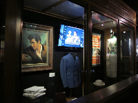 Exhibits about Elvis.