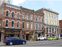 Historic buildings on Broadway.