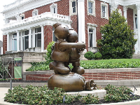 Free Money, by Tom Otterness.