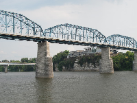 Walnut Street Bridge.
