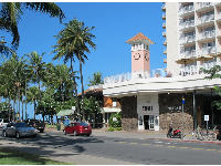 Park Shore Hotel on Kapahulu Ave.