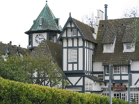 Danish buildings on Copenhagen Drive in Solvang.
