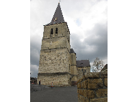 Bell tower of Pancratiuskerk, built in the late 14th century.