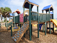 Colorful playground with room to run!