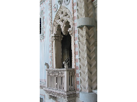 I love the Gothic architecture at the Venetian!