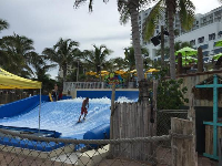 FlowRider at the Margaritaville Hollywood Beach Resort.