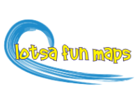 Flamingos in a tropical paradise.