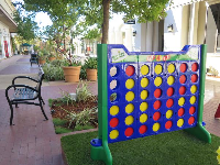 Giant sized Connect Four!