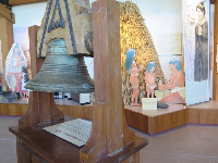 The mission bell.