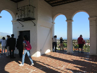 At the top of the courthouse- a wonderful place with 360 degree views!