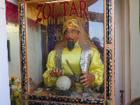 Zoltar, in the arcade game place.