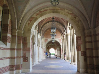 The arches of Royce Hall.