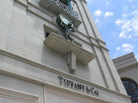 Tiffany & Co. storefront.