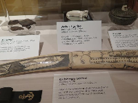 Items made of ivory, collected during WWII.