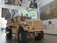 The HUMVEE was replaced with the MRAP (Mine Resistant Ambush Protected) vehicle, which protects troops from Improvised Explosive Devices and has saved many lives.