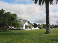 Rotary bandstand and lawn.