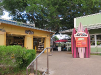 Haleiwa Store Lots entrance.