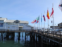 Flags by the Sea Center.