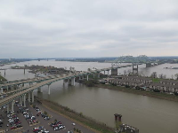 View of Memphis.