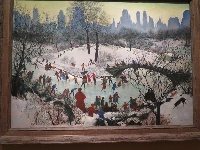 Skating in Central Park, by Agnes Tait.