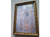 Rouen Cathedral West Facade, by Claude Monet.