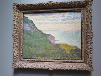Seascape at Port-en-Bessin, Normandy, by Georges Seurat.