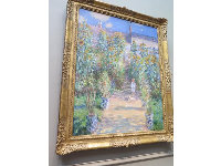 The Artist's Garden at Vetheuil, by Claude Monet.