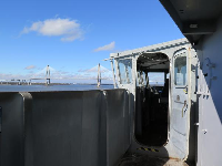 The captain's area.