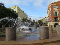 Another fountain, near Waterfront Park.