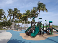 Playground at Lummus Park, along Ocean Drive.