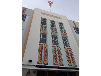 Art Deco building.