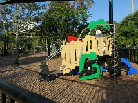 Playground at Belle Isle.