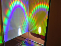 Prisms in the maze.