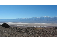 View across the massive expanse that is Death Valley, as seen from Mosaic Canyon.