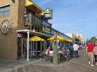 Dirty Don's, along the boardwalk.