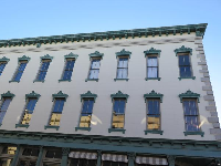 Historic building on Congress Street.
