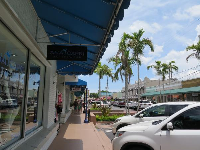 Osceola Street is nice for browsing stores.