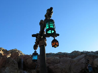 Lanterns in the line for Under the Sea.