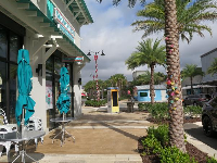 Bahama Bucks shave ice place.