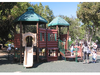 The little kids playground at Oak Park.