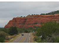 Red, red rocks of Sedona.