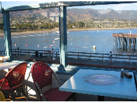 You can't top this view- leave with a renewed perspective on life! Longboards Grill on the pier.