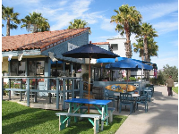 Harbor Cove Cafe, next door to the Channel Islands Visitor Center- a great place to eat!