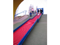 The amazing new red slide that everyone adores!