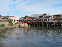 Views of Fisherman's Wharf from Monterey Harbor.