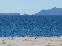 You can even see the sea arch at Channel Islands Preserve from Hollywood Beach on a clear day!