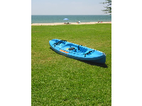 An ocean kayak, ready to go!