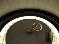 Foucault pendulum- really cool!