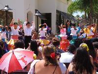 Fiesta dance performance in August at La Cumbre Mall.